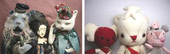 手作り雑貨のお店「しとあ」 手作り雑貨のお店「しとあ」。創作人形作家と、ぬいぐるみ作家である母と娘による手作りの作品を置いたお店しとあ。グラフィックデザイナーでカリグラフィー、書家の宮崎利一さん。
